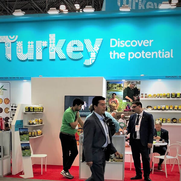 international vendors such as turkey tradeshow booth