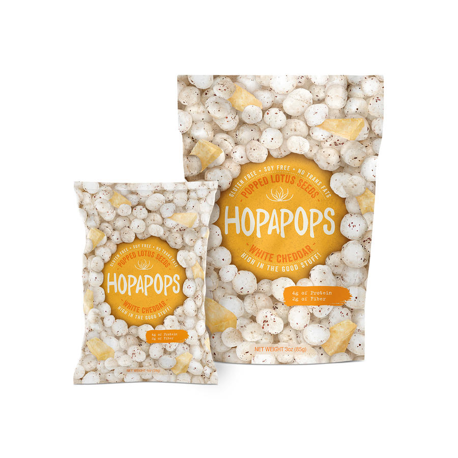 hopapops are popped lotus seeds